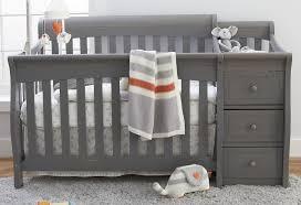 Gray Nursery Furniture Sets Grey Convertible Crib and Furniture