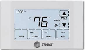 trane 824 thermostat. trane xr524 z-wave thermostat 824 e