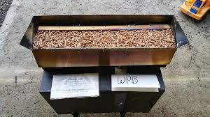 stainless mesh wood pellet basket ed fireplace grate heater furnace er heat exchanger