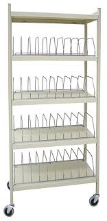 Medical Chart Carts With Vertical Racks Amazon Com Standard Vertical Open Chart Rack 5 Shelves 40