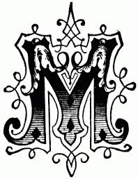 M Lettering Design Fancy Alphabet Letters Designs Drawing How To Do Fancy