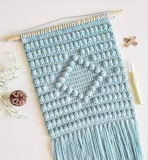 We've been living in our townhome for around 8 months but i still haven't gotten decor up. Ravelry Amelia Wall Hanging Crochet Pattern Pattern By Love Stitch
