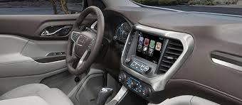 2018 gmc acadia interior. exellent acadia us model shown interior view of the 2018 gmc sierra 1500 lightduty  pickup truck and gmc acadia interior p