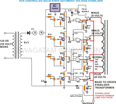 automatic voltage stabilizer block diagram wirdig stabilizer circuit diagram stabilizer wiring diagram