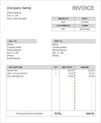 Free Invoice Template Microsoft Word Microsoft Office Word Invoice