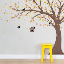 large tree wall decal cool large tree wall decal