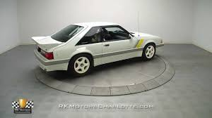 133057 / 1989 Ford Saleen Mustang SSC - YouTube