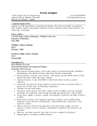 Cv With 8 Year Of Work Experience In International Business Developme