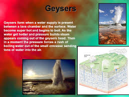 how do geysers form the science of by alex why yellowstone yellowstone is one of the