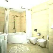 home and furniture endearing corner bathtub shower combo on tub like the idea of new