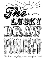 the lucky draw project front page