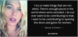 QUOTES BY AMANDA DE CADENET | A-Z Quotes