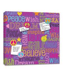 Purple Memo Board Mesmerizing Lot 32 Studio Purple Dream Words Magnetic Memo Board Zulily