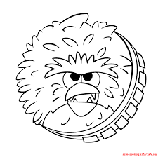 Printable Angry Birds Star Wars Chewbacca