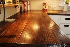 diy wooden kitchen countertops. 15 amazing diy kitchen countertop ideas diy wooden countertops e