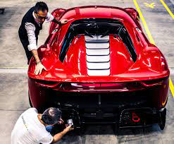 P80/c gets an aggressive forward cab stance which is accentuated by the catamaran style at the rear. Ferrari P80 C New Special Projects Car Imagines A Modern Day Sports Prototype