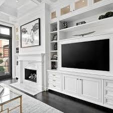 Built In Media Center, Transitional, Living Room, Domaine Home   Home decor    Pinterest   Transitional living rooms, Living rooms and Room