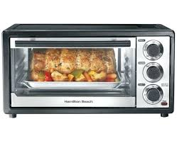 hamilton beach countertop oven with convection rotisserie black model 31101 6 slice capacity toaster