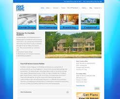 Web Design For Builders Portside Builders Door County Fox Valley Fox Valley