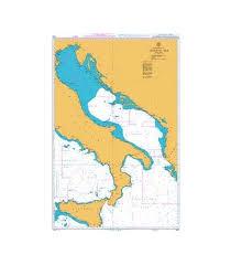 British Admiralty Charts British Admiralty Nautical Chart 1440 Adriatic Sea