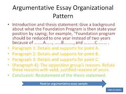 Spatial Organizational Pattern Enchanting Essay Patterns Of Organization Organizing An Essay Free Online