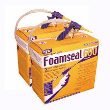 foamseal 600 diy spray foam kit