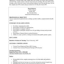 Icu Nurse Resume New Sample Nursing Resumes Inspirationa Example ...