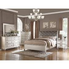 Image great mirrored bedroom furniture Dresser Silver Orchid Boland 6piece Silver Bedroom Furniture Set Overstock Buy California King Size Bedroom Sets Online At Overstockcom Our