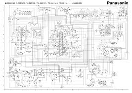 Tv circuit diagram wiring ponents