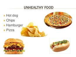 Junk Food Chart Junk Food Vs Healthy Poem In Hindi Best House Creative New