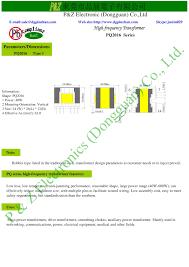 Transformer Design Parameters