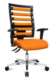 Orange office furniture Furniture Sale Stylish Topstar Workout Swivel Office Chair In Orange And Black Emfurn Choose Beautiful Bright Orange Office Chair For Your Home Here