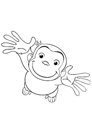 Curious George Coloring Pages To Print Wumingme