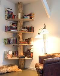 Corner Tree Bookshelf Tree Trunk Bookshelf The Corner Tree Bookshelf For  Sale