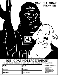 5839b6b83fc89c375341b38281cc8a73 save the goat from isis free printable shooting targets on printable targets for zeroing