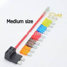 electric car wiring promotion shop for promotional electric car acc power plug medium size auto fuse box socket fuse link lossless car modification car part conversion wire for car recorder