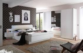 Schlafzimmer Komplett Set 4 Tlg Bonn Bravo Bett 180 Schrank Weiß