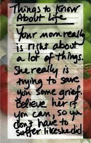 MOTHER and DAUGHTER Original Poem Inspirational Quote Family Print ... via Relatably.com