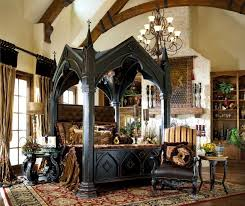 Antique Wood Canopy Bed Frame — Bed and Shower : Design and Ideas ...