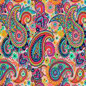 Paisley Fabric Wallpaper Gift Wrap Spoonflower