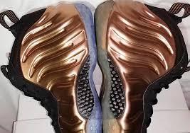 <b>Copper</b> Nike Foamposite <b>2017</b> 2010 Comparison - Sneaker Bar ...