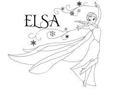 Small Picture Elsa coloring pages images and template pictures for kids