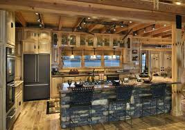 log cabin kitchen new log cabin kitchen cabinets intended for amazing house kitchens you have to