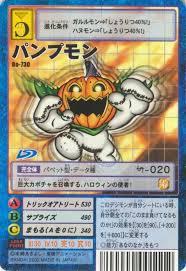 Digimon Armor Evolution Chart Pumpkinmon Evolution