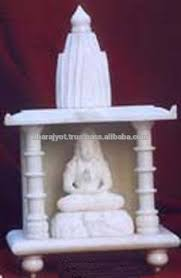 white marble temple home decoration view white marble temple home