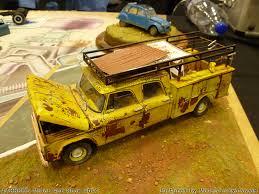 Pickups, Trucks & Machines at Jabbeke 2014 model car show [4]