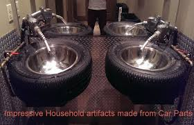 impressive household artifacts made from car parts home harmonizing