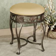 gold vanity stool backless vanity stool bench seat with brass