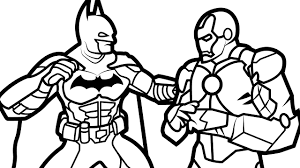 Small Picture Batman vs Iron Man Coloring Book Coloring Pages Kids Fun Art