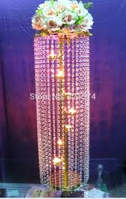 chandelier centerpieces lot tall crystal table candelabra centerpiece gold chandelier wedding decoration in party decorations